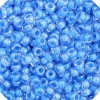 Czech Seedbead 11/0 Blue Colorlined